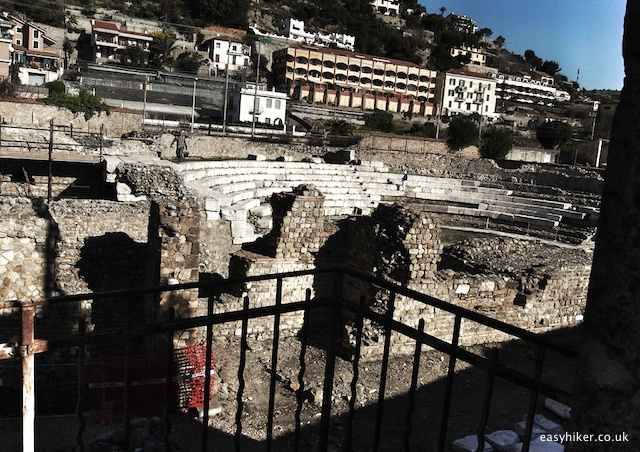 """Remains of the Romans in Ventimiglia, Italy"""