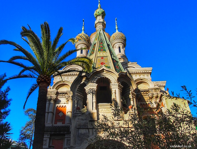 """Russian Churches on the Riviera - Sanremo"""