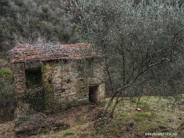"""""""shelter ruins in the Ligurian Hills of Apricale"""""""
