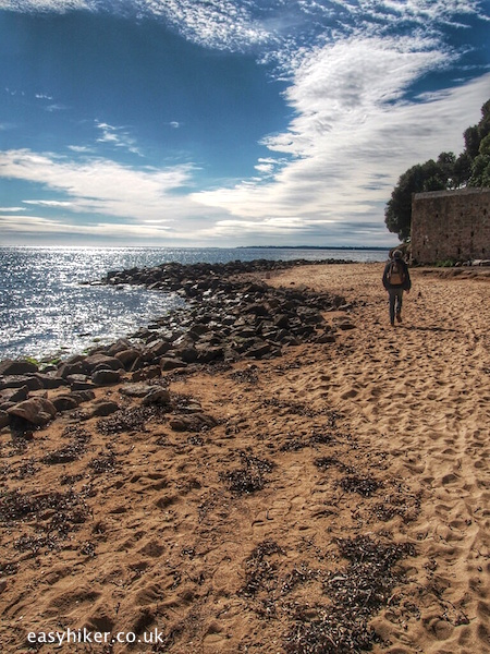 """Springtime for Napoleon - trail the army took by beach of Golfe Juan"""