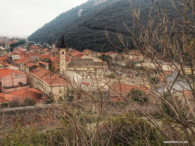 """The grand finale - hiking in Finale Ligure"""