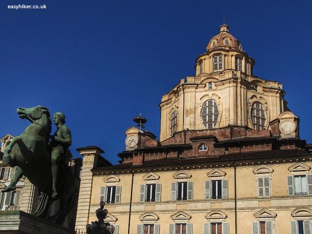 """Chapel along a town walk in Turin"""