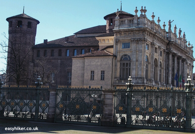 """Double-fronted Palazzo Madama to see on a town walk in Turin"""