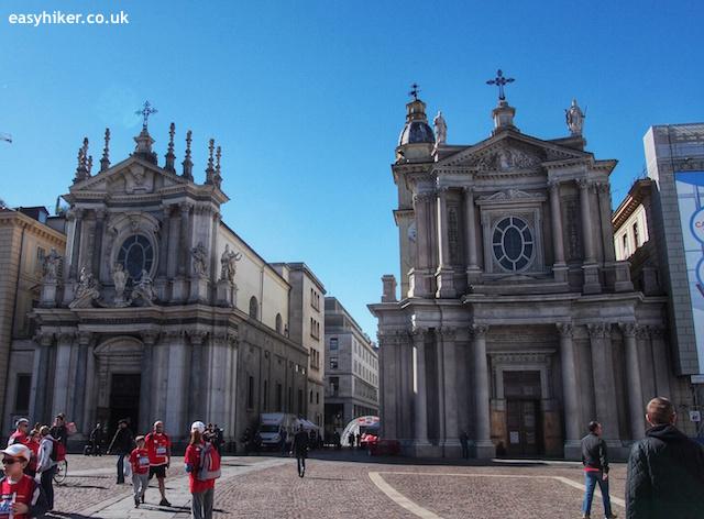 """""""Piazza San Carlo on a town walk in Turin"""""""