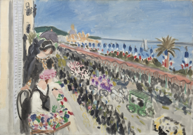 """Nice of Henri Matisse and the fete des fleurs"""
